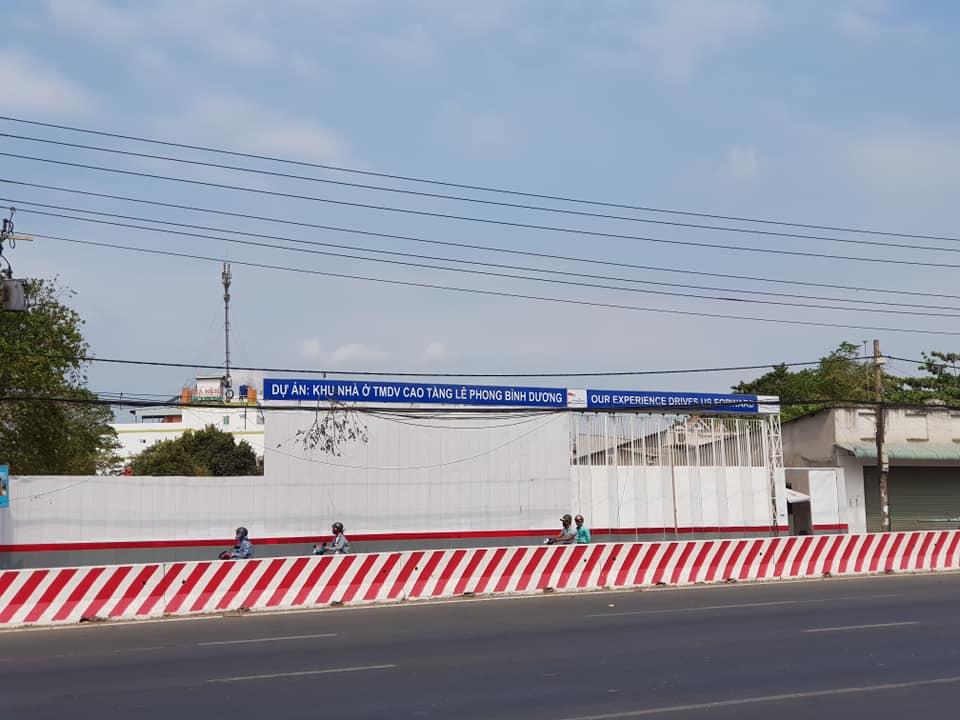 vị trí dự án Lê Phong Bình Dương