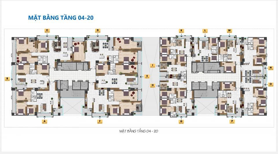 Thiết kế căn hộ Tam Đức Plaza tầng 4 20
