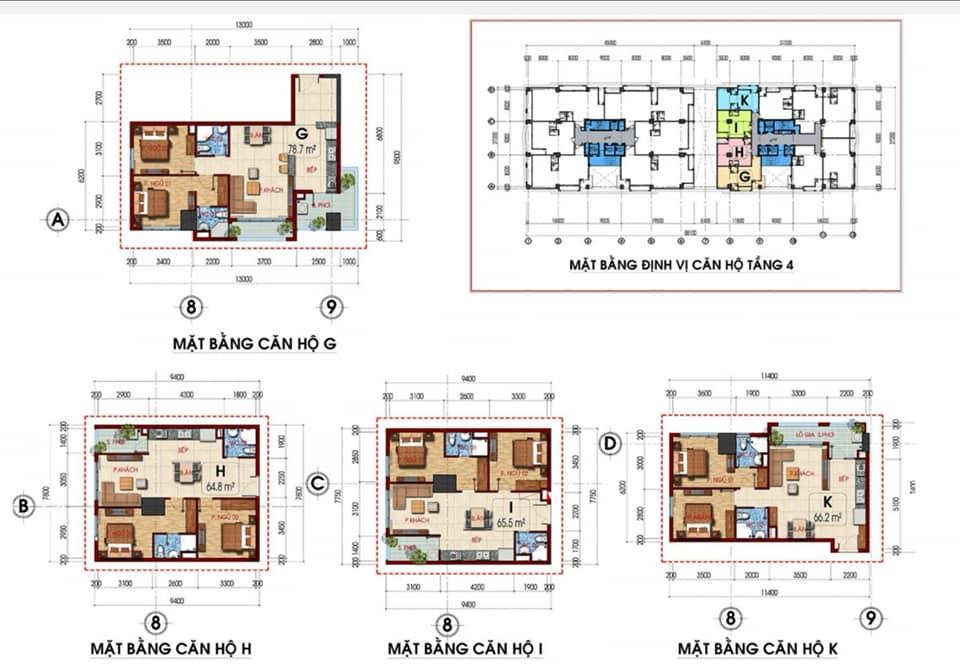 thiết kế căn hộ Tam Đức Plaza 1