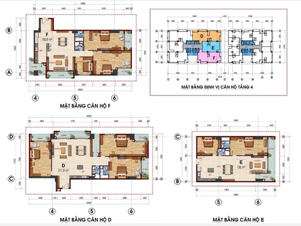 thiết kế căn hộ Tam Đức Plaza 2