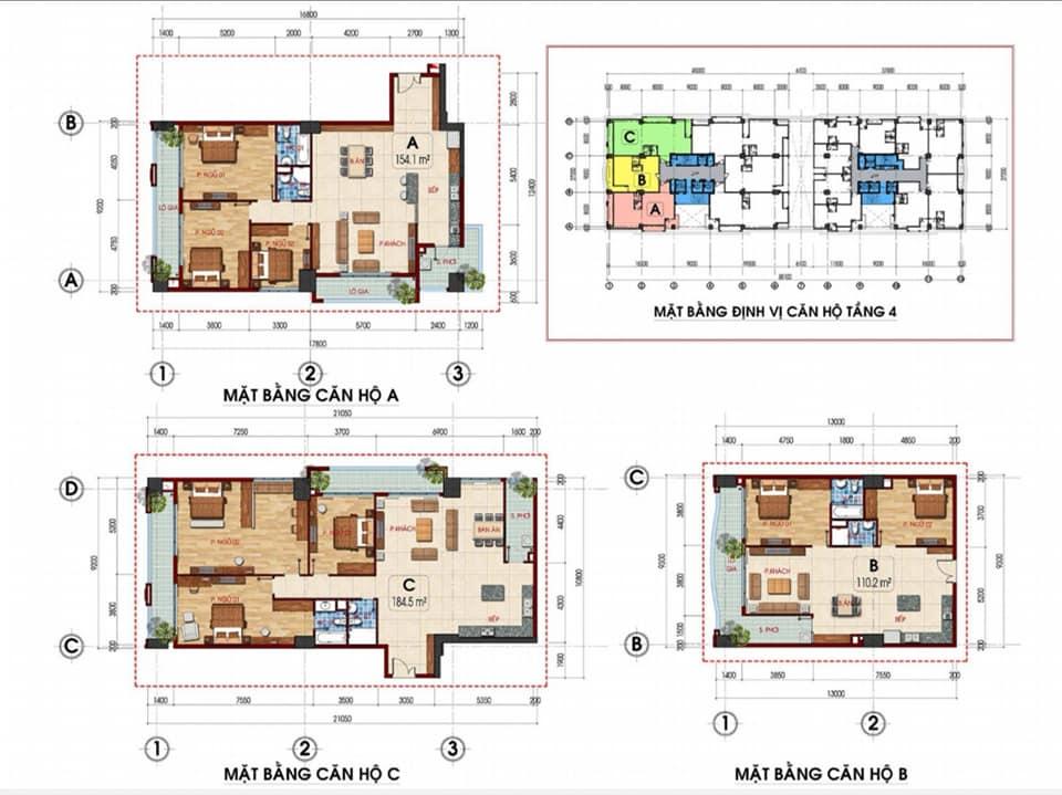 thiết kế căn hộ Tam Đức Plaza 3