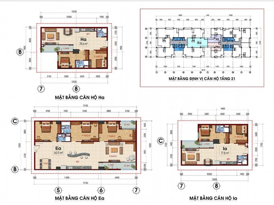 thiết kế căn hộ Tam Đức Plaza 4