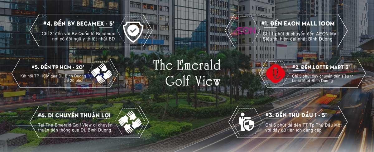 Tiện ích ngoại khu The Emerald Golf View