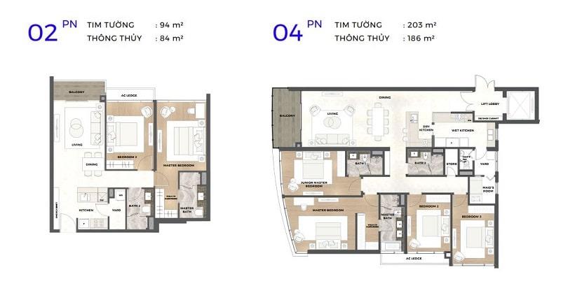 thiết kế căn hộ astral city