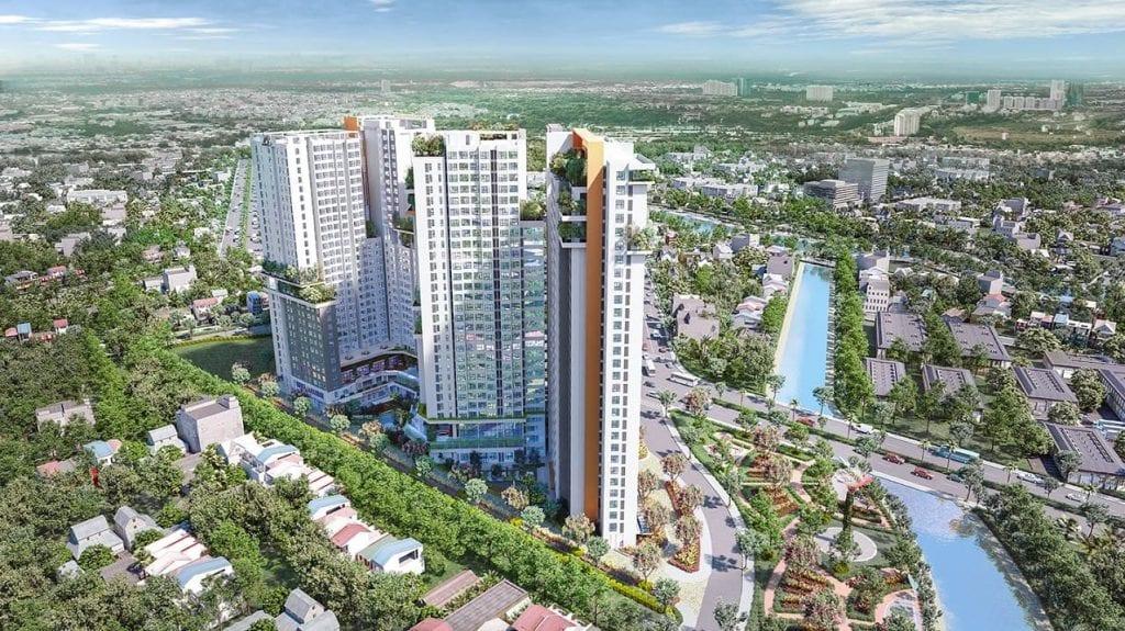dự án căn hộ aster garden towers