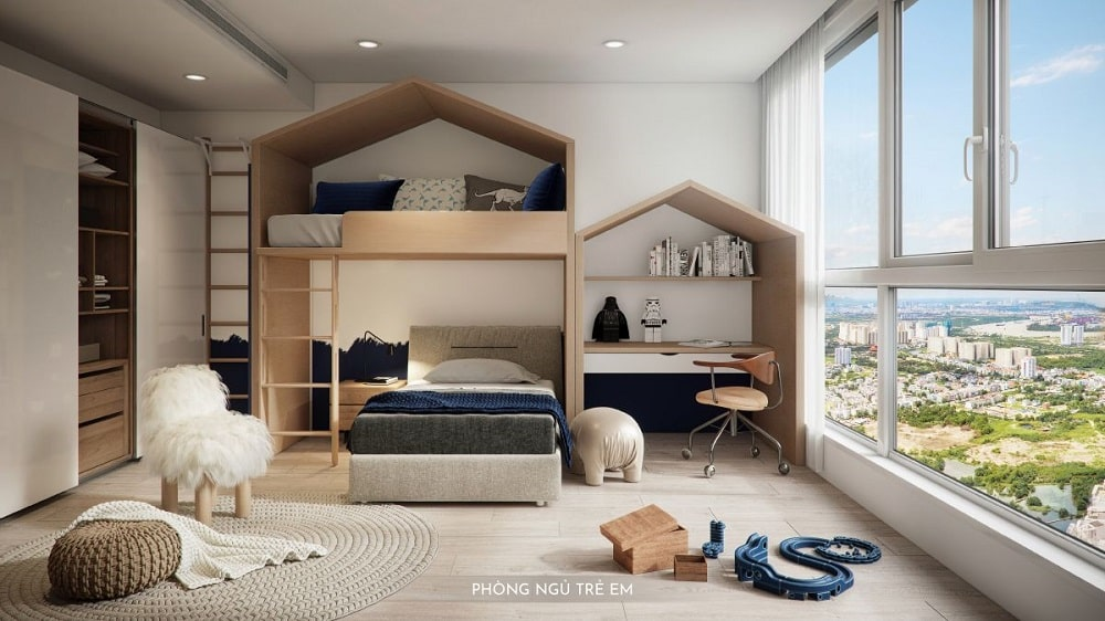 Phòng ngủ trẻ em Happy One Premier