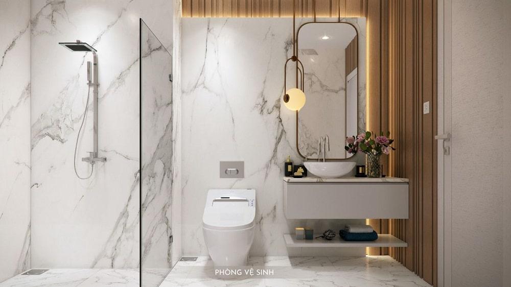 Phòng tắm Happy One Premier