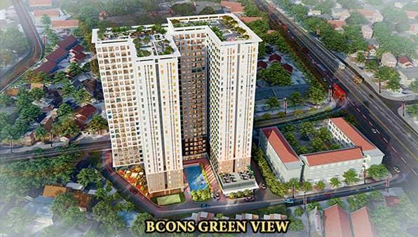 Căn hộ Bcons Green View