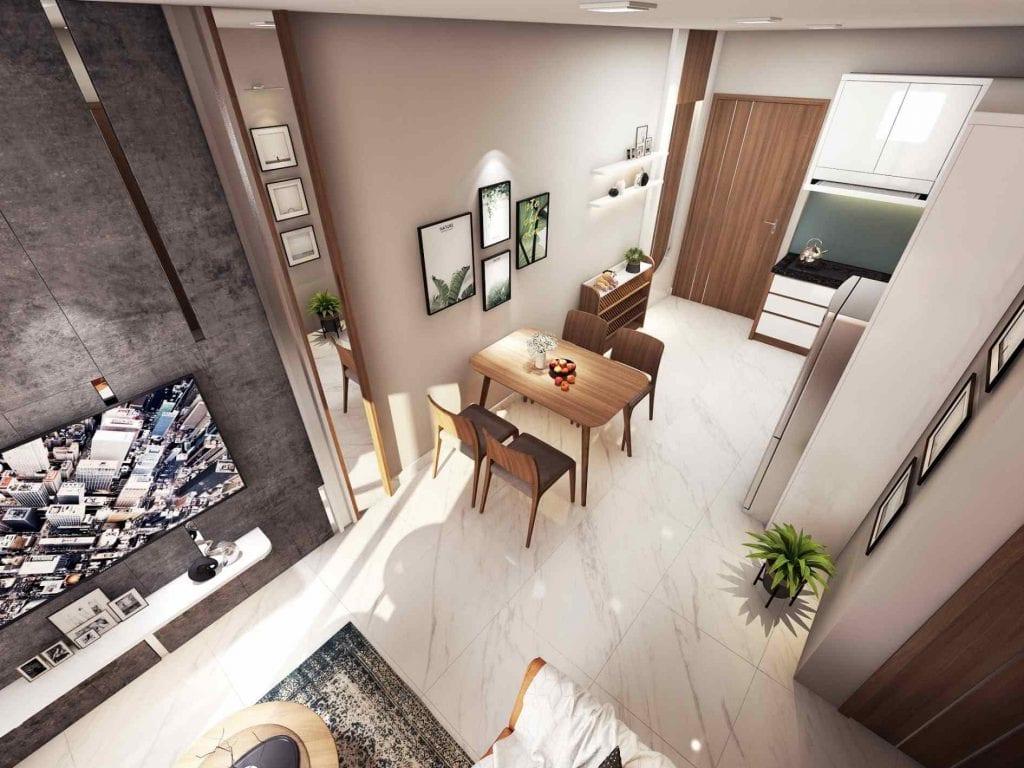 Nhà mẫu The Seasons Apartment 1