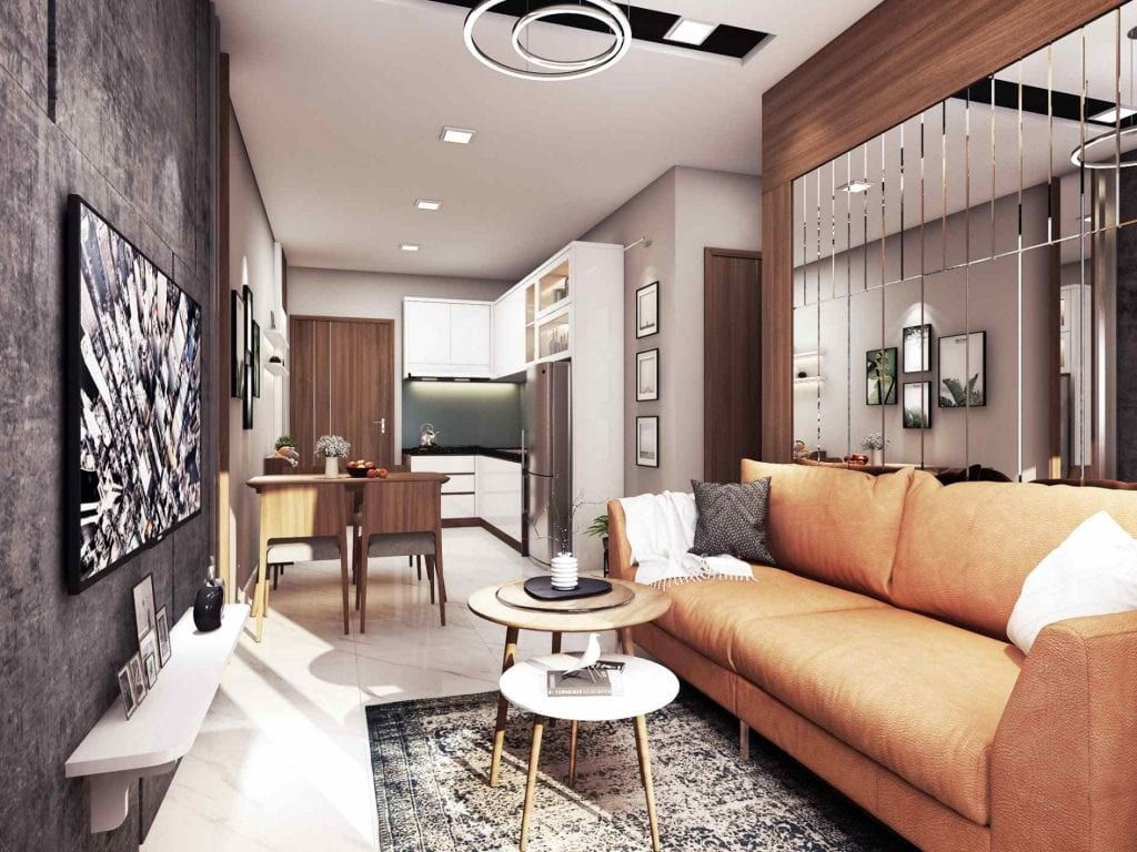 Nhà mẫu The Seasons Apartment 2