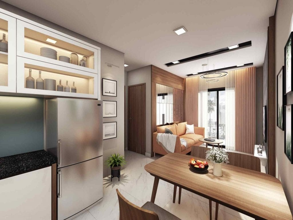 Nhà mẫu The Seasons Apartment 4