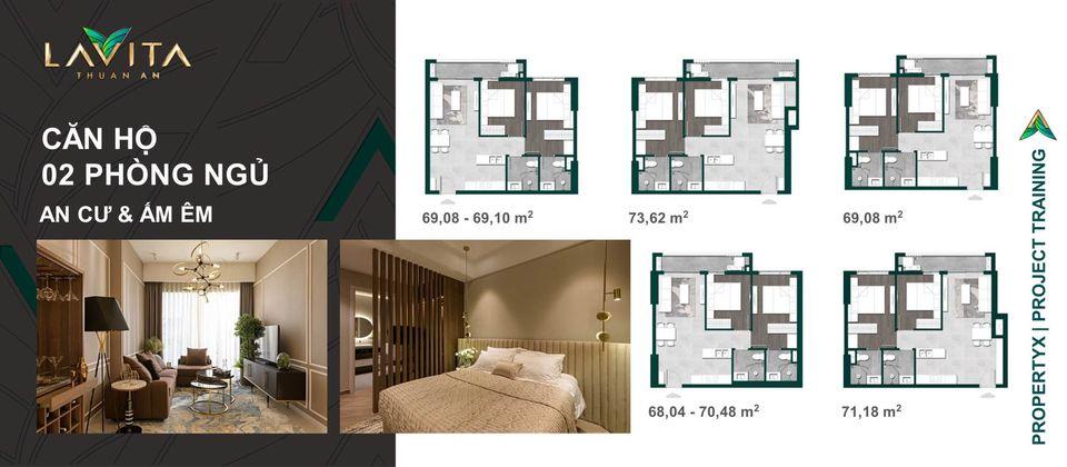 Lavita Thuận An 2 phòng ngủ